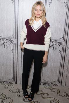 Is Sienna Miller Going Preppy?