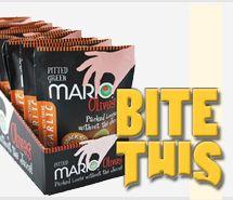 Mario Camacho 100-Calorie Olive Snack Packs