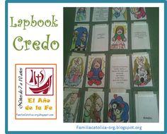 Familia Católica: Lapbook del Credo para el Año de la Fe: Actividad para niños de 7 a 10 años