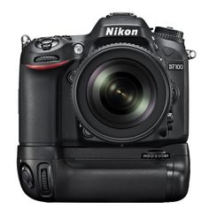 Nikon D7100 with grip, a really great DSLR camera!
