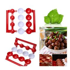 TV Newbie Meatballs for Cooking - 50% OFF!-Kitchen & Household- Just fill and press to DIY all kinds of your favorite food. #kitchen #KitchenGadgets #KitchenStuff #KitchenTool #KitchenEssentials #KitchenAccessories #creative #household  #eggs  #cooking #fun #interesting @Kitchen Ideas