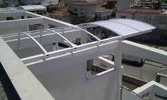 Resultado de imagen para cubiertas de policarbonato para escaleras externas