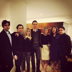 """8 seasons in and as obsessed with this cast as if it was day one. Love u silly faces #bbt"" #penny #tbbt"