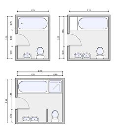 Bathroom Floor Plan With Tub And Shower   Google Search