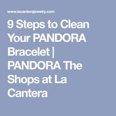 Take a look at our nine easy steps below to get a cleaner bracelet today! Pandora Bracelets, Pandora Charms, Pandora Cleaning, Life Hacks, Shops, Shopping, Tents, Retail, Lifehacks