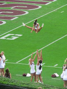 Frequent Flyer by Roger Smith, via Flickr  Mississippi State cheerleading cheerleaders