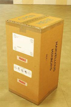 Quantun box: 99cm x 50cm x 50cm - perfect for worldwide shipping. FREE SHIPPING.!