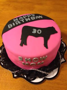 Show mom cake steer. Awesome!!!!