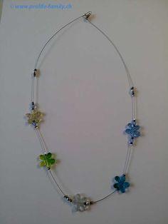 """Halskette """"multicolor"""" - Zu finden auf www.prolife-family.ch in """"Shop für Afrika""""."""