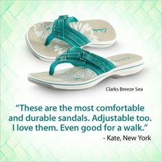 The Clark's Breeze Sea Thong Sandal is a customer favorite!