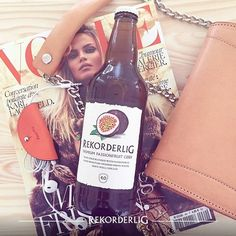 Staying fashionably cool with Passionfruit Cider. @carolineblomst