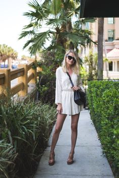 Little Blonde Book by Taylor Morgan | A Life and Style Blog : Embroidered Bell Sleeve Romper