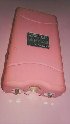 pink taser Gun Aesthetic, Self Defense Women, Things To Buy, Stuff To Buy, Everything Pink, Cute Pink, Dark Fantasy, Baddies, Michael Kors Jet Set