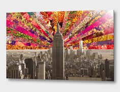 """""""Blooming NY"""", Numbered Edition Aluminum Print by Bianca Green - From $69.00 - Curioos"""