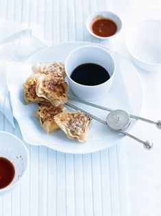 Pork and Prawn Potstickers. Again, from Donna Hay. Love the photography on this website.
