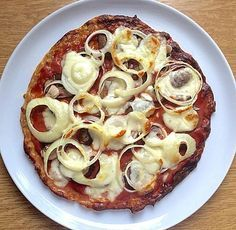 Thunfischpizza Low Carb