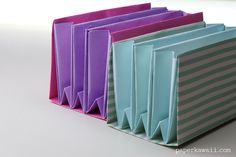 Learn how to make an expanding origami folder - Paper Kawaii #origami #crafts #diy #tutorial