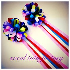 Traditional Mexican Loop Hair Bows by SoCal Tutu Factory