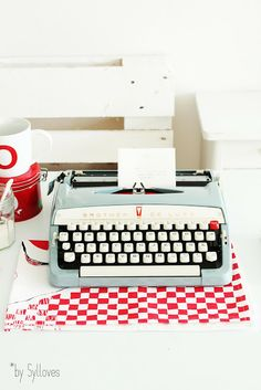 I've always wanted to try to use a typewriter