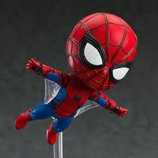 Spider Man Homecoming With Images Spiderman Nendoroid