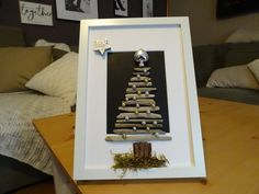 Christmas tree in the frame of driftwood branches Frame, Etsy, Home Decor, Driftwood, Christmas Tree, Handmade, Picture Frame, Decoration Home, Room Decor