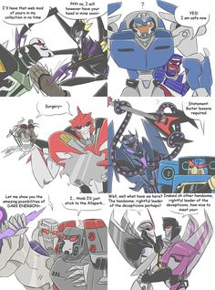 TF - Countdown to TFP season 2 crossovers 13-18 by Rosey-Raven on DeviantArt Megatron- PsychoTron wants to be your FRIIIEEEND!!
