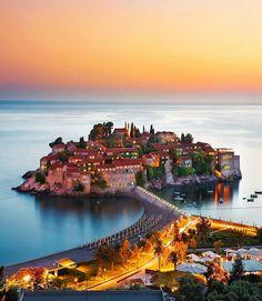 The lovely island ~ Sveti Stefan, Montenegro Phot