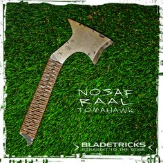 Bladetricks Subcompact Nosaf Raal Tomahawk #everydaycarry #tactical #axe