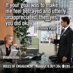 Russel/Timmy relationship summed up. Engagement Quotes, Rules Of Engagement, Thanks Boss, Tumblr Image, Picture Quotes, Quote Pictures, Great Tv Shows, Ex Wives, Betrayal