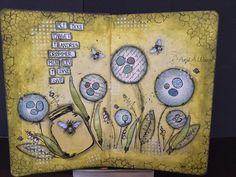 Art journal By Me...Anja A Waage