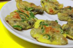 All That Korea: Pan-fried Oysters(Gool Jeon)