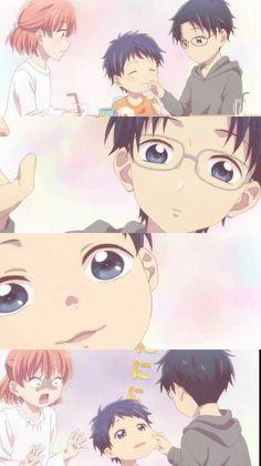 Wotakoi: Love is Hard for Otaku - Otaku Anime, Manga Anime, Anime Art, Koi, Manga Love, Anime Love, Kawaii Anime, Tsurezure Children, Familia Anime