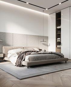 Modern Luxury Bedroom, Modern Bedroom Design, Home Room Design, Luxurious Bedrooms, Bathroom Interior Design, Bedroom Closet Design, Small Room Bedroom, Home Bedroom, Luxury Homes Interior