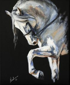 Equine Art: Nadina Ironia on Cavalcade
