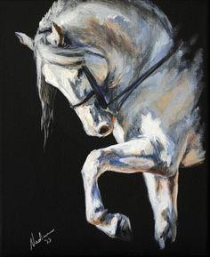 Equine Art: Nadina Ironia on Cavalcade