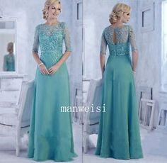 Green-madre-de-la-Novia-vestidos-de-apliques-de-diamantes-de-imitacion-formal-trajes-de-noche