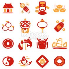 Chinese New Year Icon Royalty Free Stock Vector Art Illustration