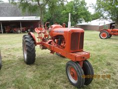 1939 Allis Chalmers WC lpg tractor