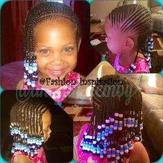 Kid cornrows