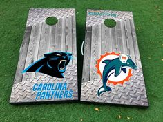 Product: American football teams National Football League (NFL) Cornhole Board Game Decal VINYL WRAPS with LAMINATED