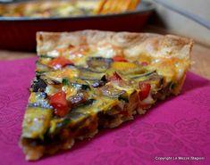 Torta salata alle verdure, ricetta Pizza, Italian Cooking, 30 Minute Meals, Omelette, Quiche, Yogurt, Buffet, Picnic, Baking