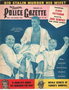 The National Police Gazette February 1957