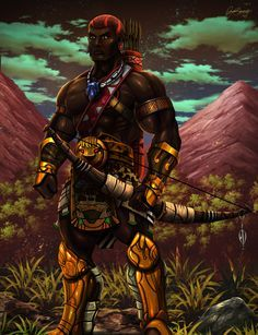 Sudanese fantasy warrior by pagolas on deviantART Black Comics, Bd Comics, Orisha, Fantasy Warrior, Final Fantasy, African Warrior Tattoos, African Artwork, African Royalty, Black Art Pictures