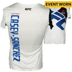 Cortney Casey-Sanchez Ultimate Fighting Championship Fanatics Authentic UFC Fight Night: Henderson vs. Masvidal Event-Worn Walkout Jersey - Fought Seo Hee Ham in a Women's Strawweight Bout