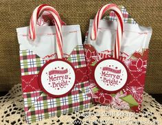 Fun & Easy Hot Cocoa Holiday Gift Idea using Stampin' Up! Student Christmas Gifts, Christmas Treat Bags, Christmas Craft Fair, Christmas Crafts For Gifts, Christmas Traditions, Christmas Cards, Teacher Gifts, Hot Chocolate Gifts, Christmas Hot Chocolate