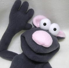And making a puppet like this.