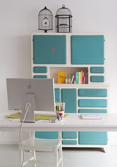 home office storage. Home Office Storage, Home Office Decor, Home Decor, Workspace Inspiration, Room Inspiration, Furniture Styles, Home Furniture, Interior Work, Interior Design