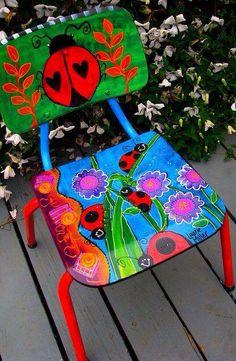 Colors! Art Chair...