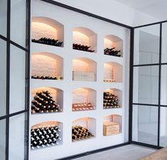 Home Wine Cellars, Wine Cellar Design, Wine Display, Wine Wall, Ideas Geniales, Wine Storage, Home Decor Inspiration, Home Interior Design, Decoration