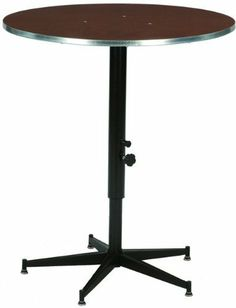 Superb Midwest Folding Products Sealed Plywood Top Tri Height Cocktail Table By  Midwest Folding Products. $186.99. Tables Quickly Adjust From 30 High To 42  High, ...